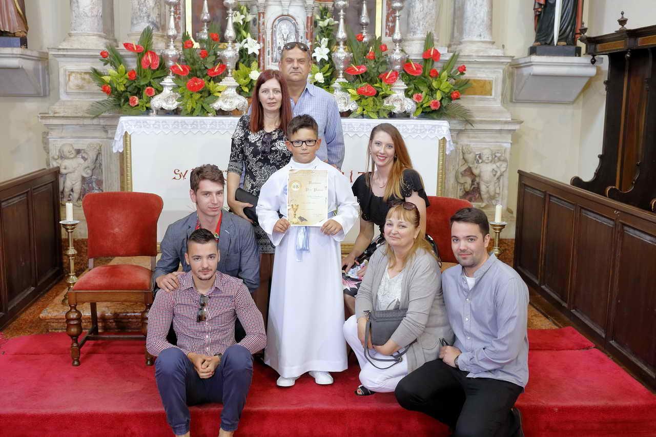Fotografiranje krštenja, pričesti i djece