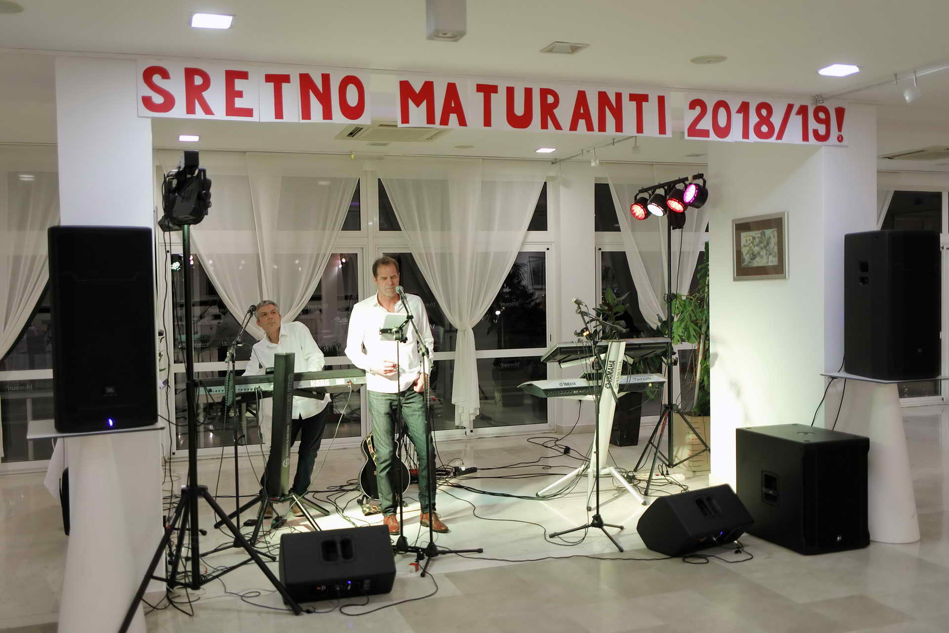 Maturalna zabava – srednja škola Brač